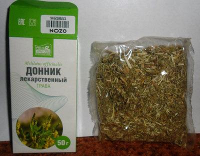 как выглядит трава донник