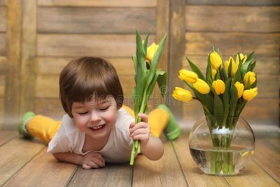 что делать с детками тюльпанов