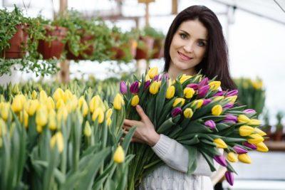 при какой температуре хранить тюльпаны
